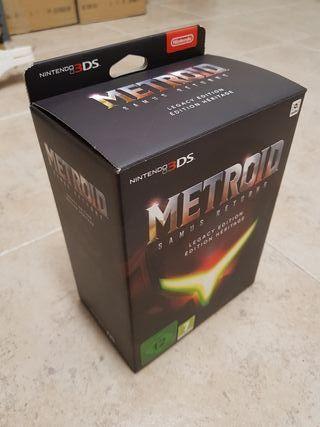 METROID Samus Returns. Edición Heritage. 3DS NUEVO