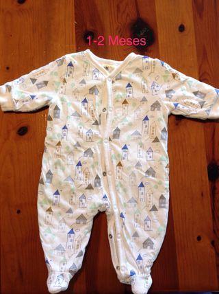 Ropa bebé, pijama acolchado