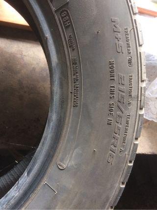 2 Neumáticos coche215 65 16