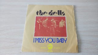 DISCO SINGLE THE DELLS I MISS YOU BABY