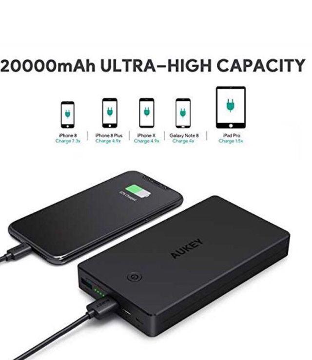Batería externa 20000mAh