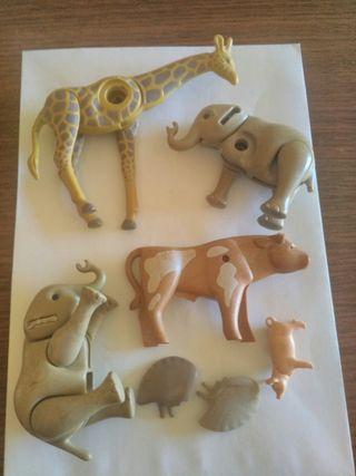 playmobil despiece de animales