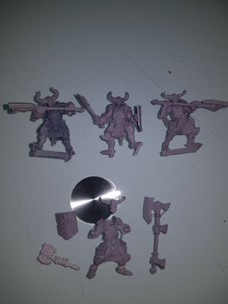 heroquest gamezone guerreros del caos