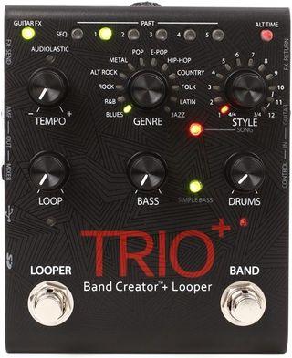 Pedal Trio Band+. Looper y banda