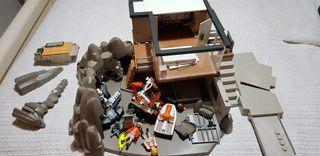Isla Playmobil agentes secretos