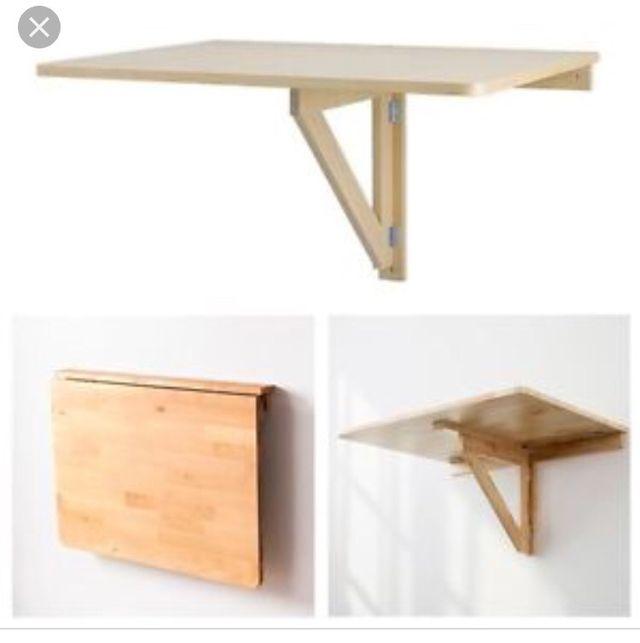 Mesa abedul plegable cocina IKEA de segunda mano por 30 € en Madrid ...