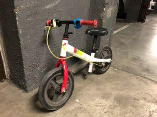 """Bici niño sin pedales 10"""""""