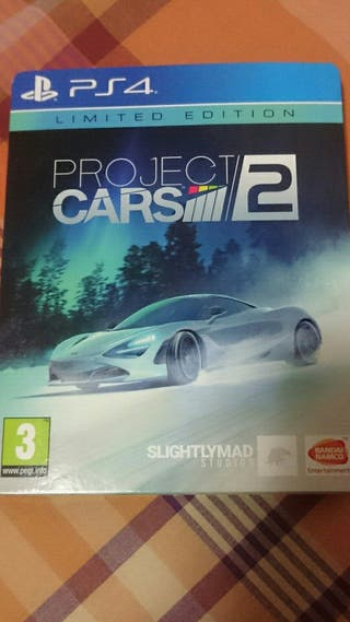 Project Cars 2 PS4 Limited Edition