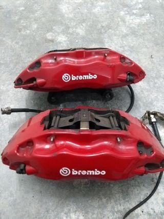 Frenos Brembo 4 pistones VW + Discos frenos 345