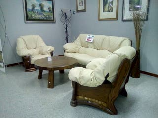 Conjunto de sofas de segunda mano por 899 en madrid en wallapop - Remar muebles madrid ...
