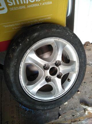 """Llanta de aluminio 17"""" Hyundai Coupé"""