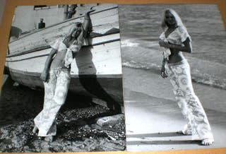 3 FOTO ORIGINAL DE MYLENE DEMONGEOT