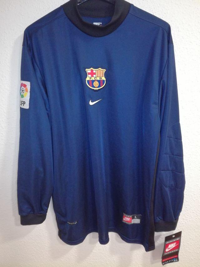 7126fa35824 NIKE FC Barcelona 1998-1999 portero nueva de segunda mano en ...