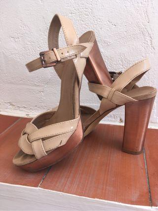 Zapatos tacon Maripaz 37