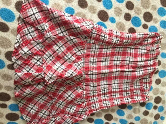 Camiseta rallas rosa