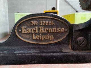PRENSA CILINDRO KARL KRAUSER LEIPZIG
