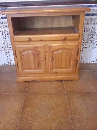Muebles madera maciza bodega