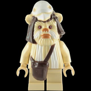 EWOK LOGRAY STAR WARS LEGO COMPATIBLE NUEVA