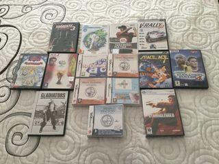 Lote de juegos de PC, WII y DS