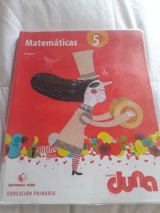Libro matemática 5 primaria