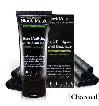 Mascarilla charcoal
