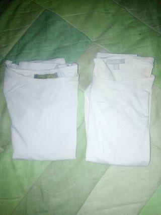 lote camisetas básicas 2×5