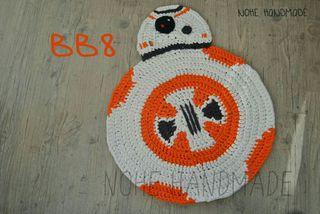 alfombra trapillo bb8