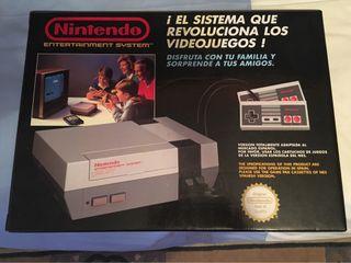 Consola nintendo Nes 1985