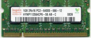 Memoria Ram 1 Gb. Hynix HYMP112S64CP6-S6 AB-C