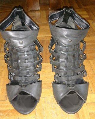 sandalias romanas de tacon talla 38