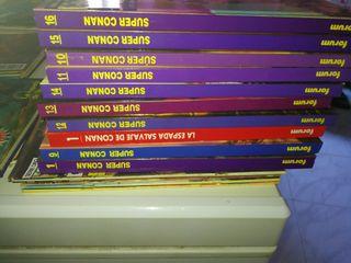 super Conan primera edición y segunda edición