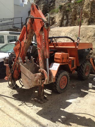 Dumper excavadora