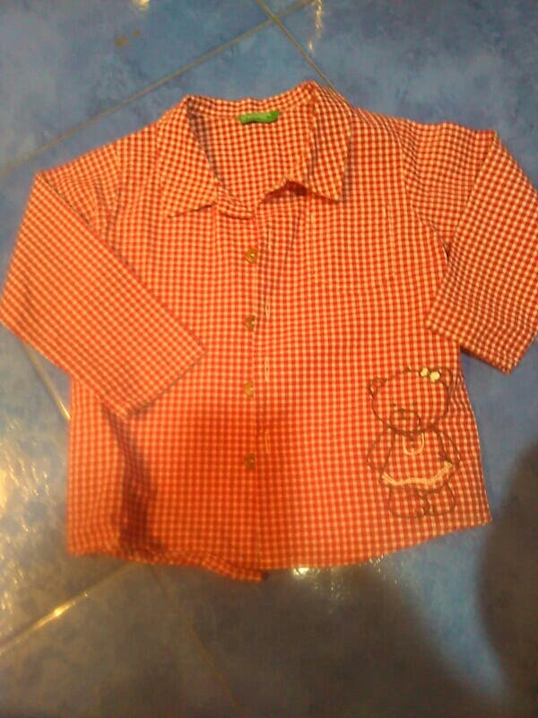 camisa de bebe