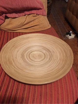 Plato madera ikea