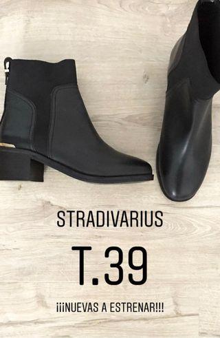 Botines Stradivarius 39 NUEVOS