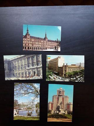 Postales Madrid