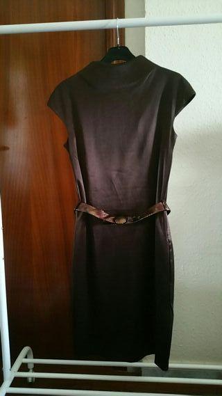 Vestido de Mango marron