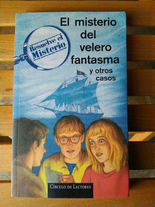 Libro El misterio del velero fantasma y otros caso