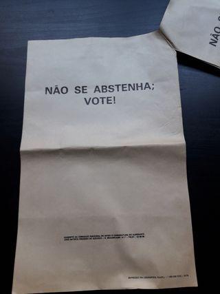 Panfleto politico