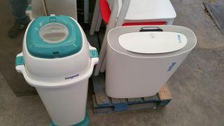 lote de dos papelera higiénicas
