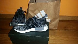 Adidas Nmd_R1 Primeknit Core Black
