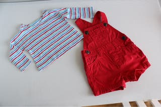 Conjunto niño zara 3-6 meses
