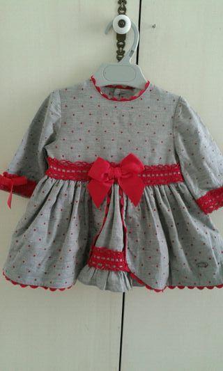 vestidos de nena talla 3 -4 meses .marca Nini y Do