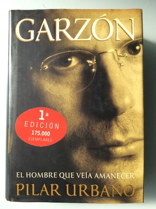 Libro Garzón. El hombre que veía amanecer