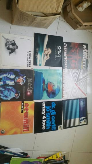 lote 100 discos vinilo italodance vale music byn
