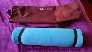 Esterilla yoga con su bolsa