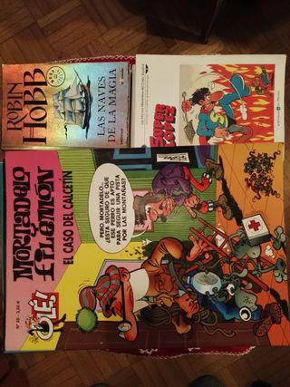 Libro Robin Hobb y Cómics