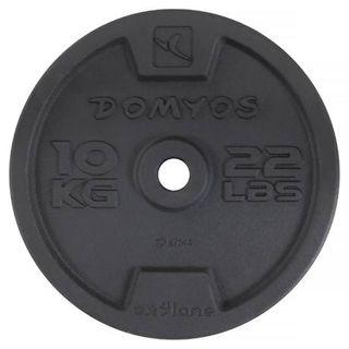 Barras y discos fitness