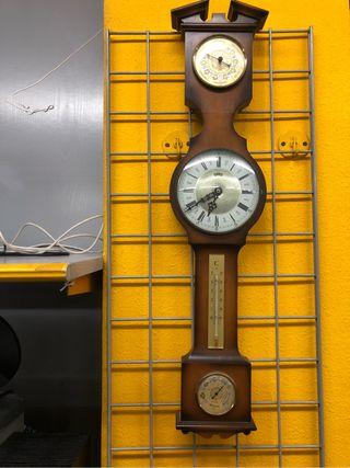 Reloj barometro higrometro