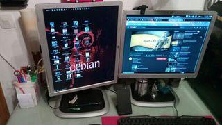 pantalla HP ordenador